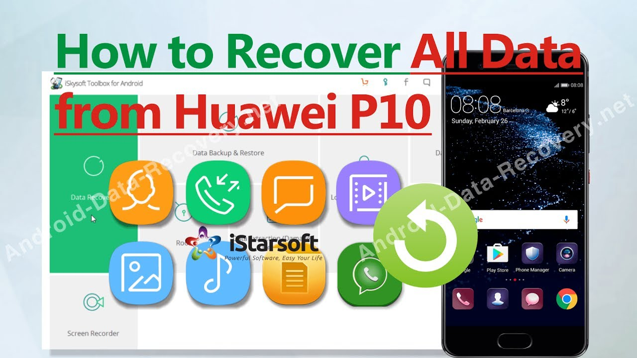 How to Recover All Data from Huawei P10