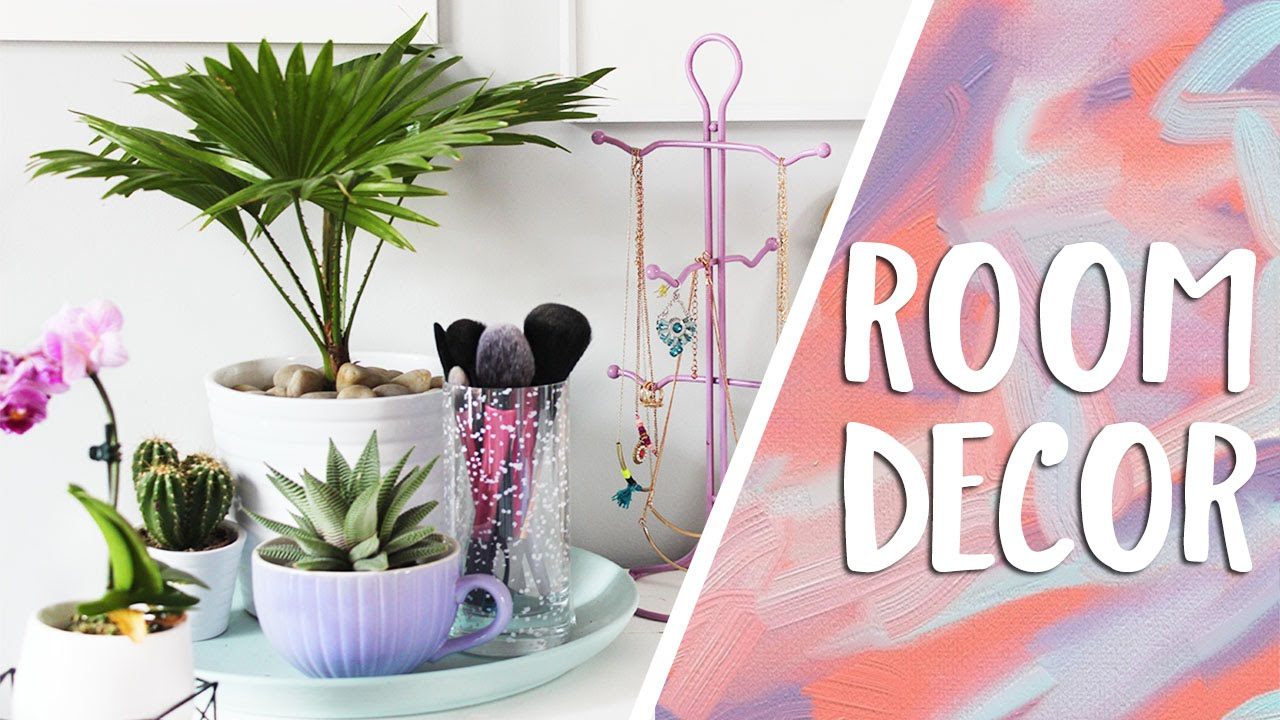 Diy organizational room decor life hacks youtube for Diy room decorations youtube