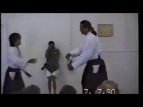 Стивен Сигал - семинар по айкидо 1990г.