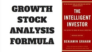 HOW TO ANALYZE STOCKS - THE INTELLIGENT INVESTOR CHAPTER 11