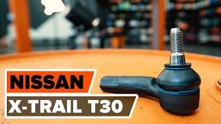 NISSAN X-TRAIL Kormány gömbfej beszerelése: videó útmutató