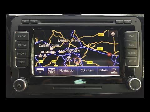 VW RNS 510 - Alle Funktionen | Update | Kartenupdate