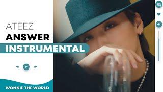 Download lagu ATEEZ - Answer | Instrumental