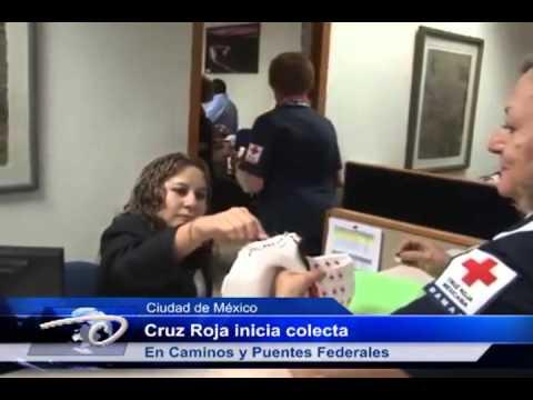 Morelos Cruz Roja inicia Colecta En Caminos y Puentes Federales