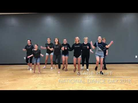 Stage Right National Dance Day 2018