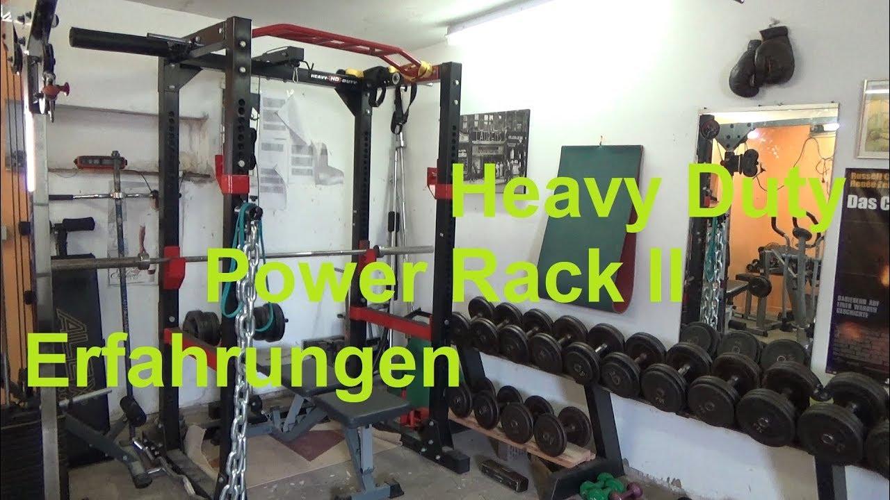 Hervorragend Heavy Duty Power Rack II Meine Erfahrungen nach 6 Jahren Test Home QN61