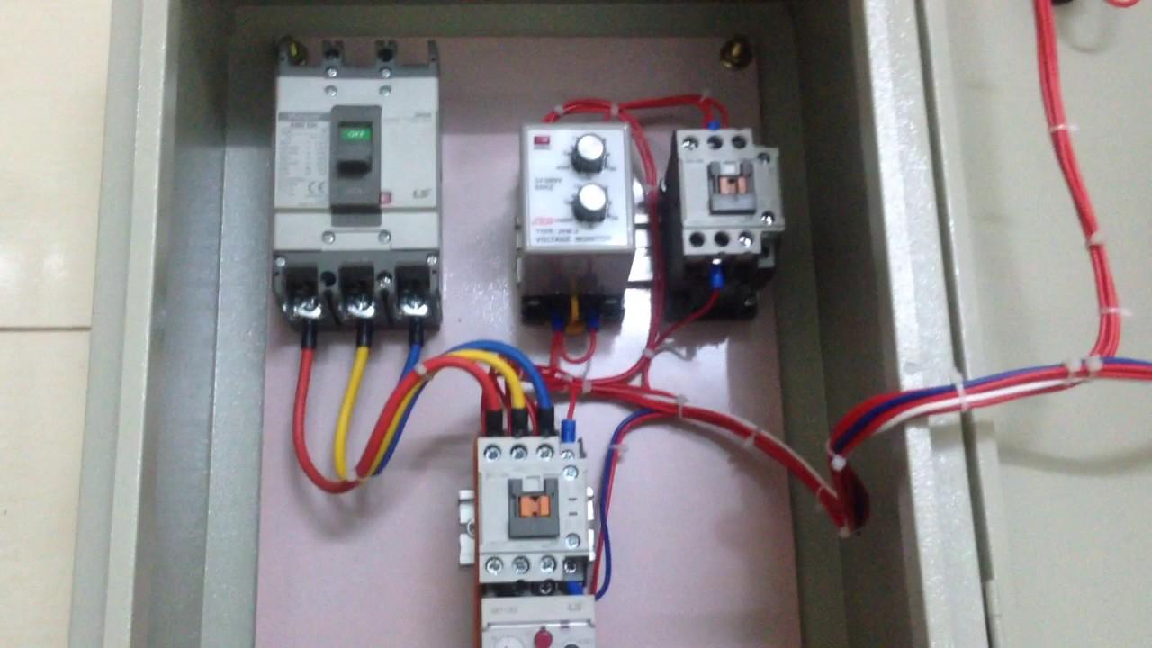 Lần đầu nhận lắp đặt tủ điện về nhà làm còn thấy chưa ổn lắm - Gia lai