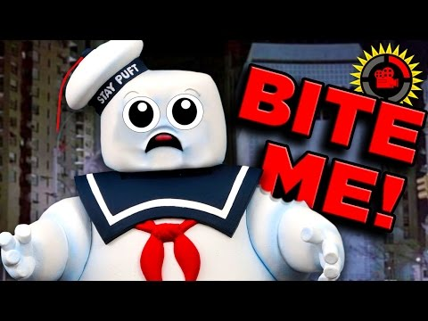 Thumbnail: Film Theory: Ghostbusters - HOW MANY Calories is Stay Puft Marshmallow Man?
