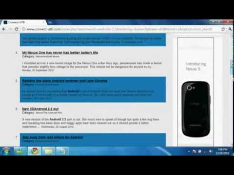 how to install android 2 2 on htc touch diamond YouTube