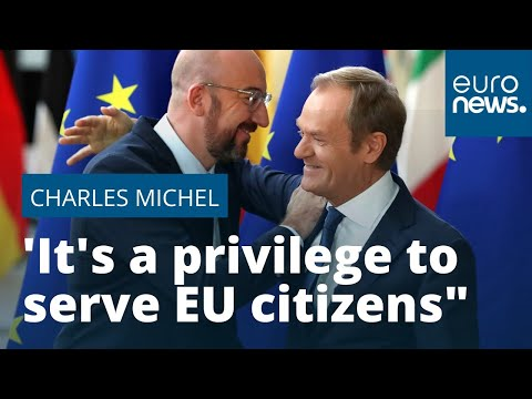 Charles Michel takes over as European Council president