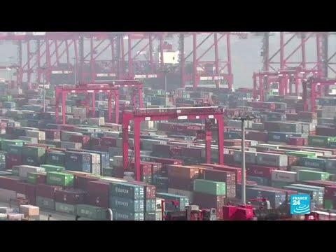 .港口感到冠狀病毒對全球貿易的影響