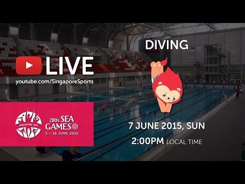 Aquatics Diving 3m Finals (Mens) Day 2 | 28th SEA Games Singapore 2015