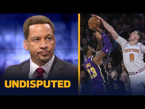 Chris Broussard reacts to LeBron's potential game-winner being blocked vs Knicks | NBA | UNDISPUTED thumbnail
