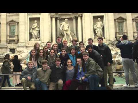 Ensemble Spring Break Tour 2013 Italy Westminster Schools, Atlanta