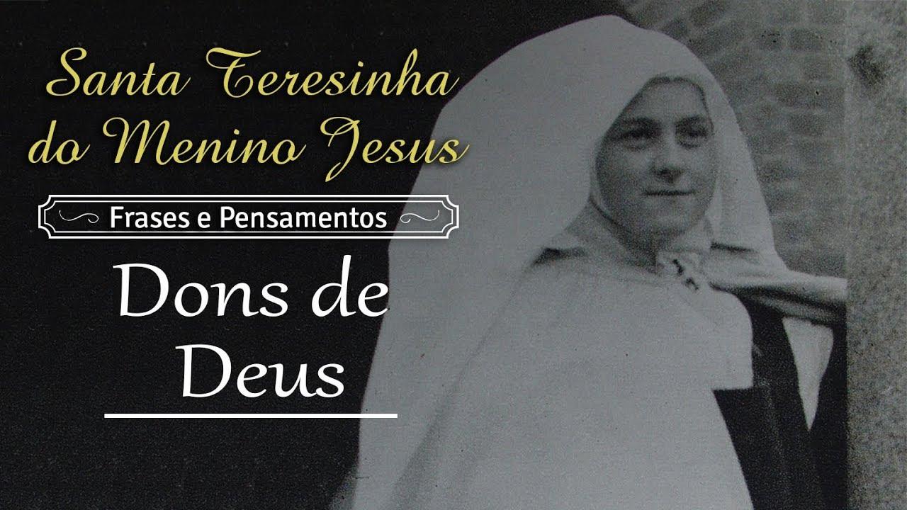 Santa Teresinha Do Menino Jesus Dons De Deus Arautos Youtube