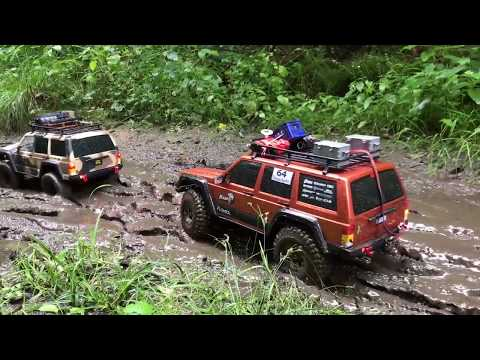 RC Crawler 4x4 Offroad Adventure in Mud & Water 🚧⚠️