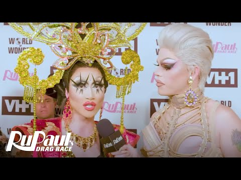 (Pt. 2) On the Red Carpet at the Season 10 Finale | RuPaul's Drag Race Season 10