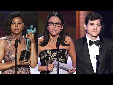 Celebs Slam Trump During 2017 SAG Awards