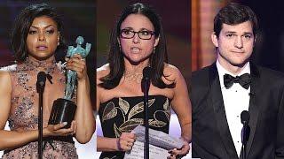 Celebs Slam Trump During Sag Awards