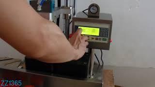 semi auto vacuum capping machine semi auto vacuum capper