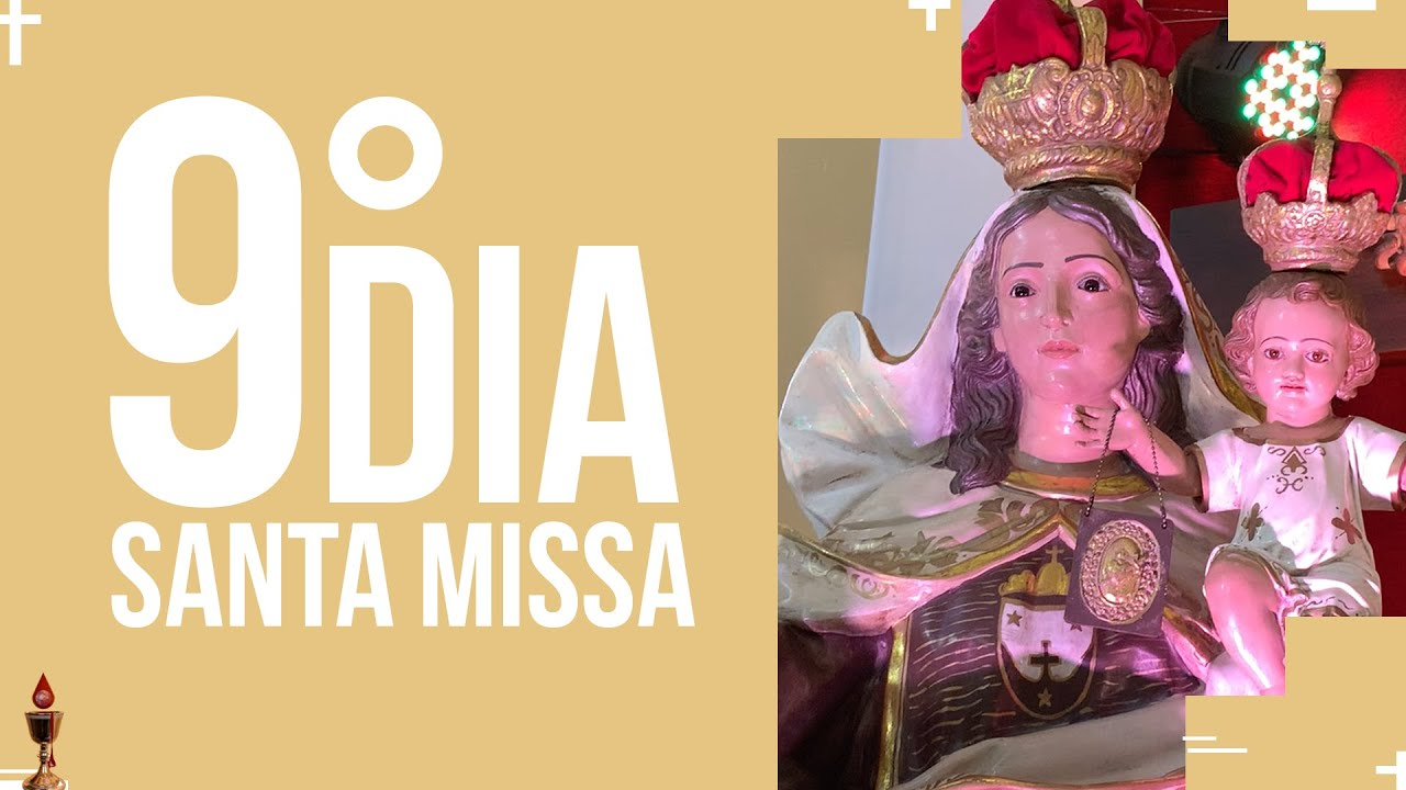 Santa Missa  - 9º dia do Preciosíssimo Sangue de Jesus   PADRE REGINALDO MANZOTTI