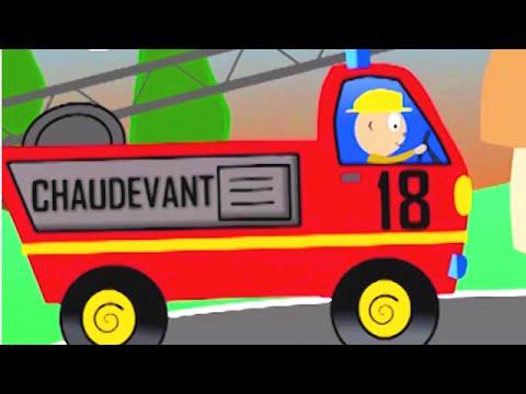 Au feu les pompiers comptine enfant youtube for Au feu les pompiers la maison