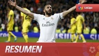 Resumen de Real Madrid (3-0) Villarreal CF