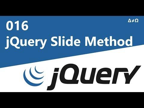 016 jQuery Slide Method - jQuery Tutorial for Beginners thumbnail