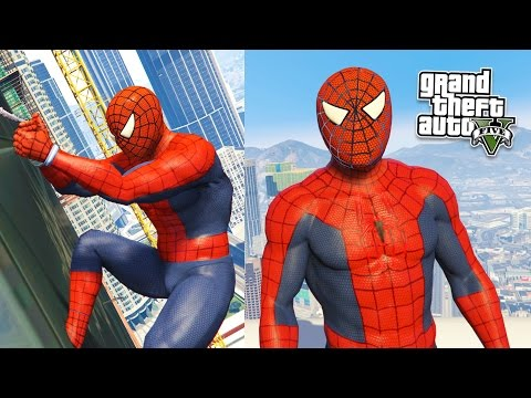 GTA 5 Mods - ULTIMATE SPIDERMAN MOD! GTA 5 Spiderman Mod Gameplay! (GTA 5 Mods Gameplay)