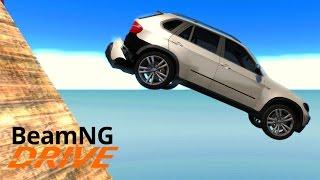 АДСКАЯ КАРТА - ОТ БМВ НИЧЕГО НЕ ОСТАЛОСЬ! - BeamNG.drive