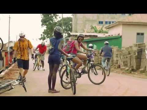 Cycling in Aburi Mountains (A waterfall Adventure)
