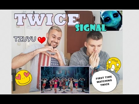 Thumbnail: [TZUYU is mine] TWICE - SIGNAL MV REACTION-Non Kpop Fan & FANBOY german