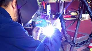 Сварка стали аппаратом Сварог TIG 200 P DSP AC/DC