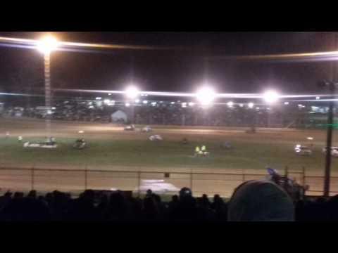MSCS Sprint Car Feature Part 2/2 Lincoln Park Speedway