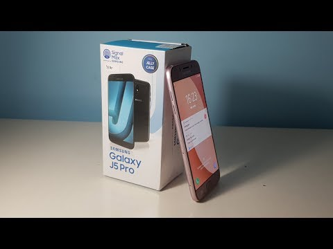 Samsung Galaxy J5 Pro - Unboxing & Review (2017 Newest Release) [PINK]