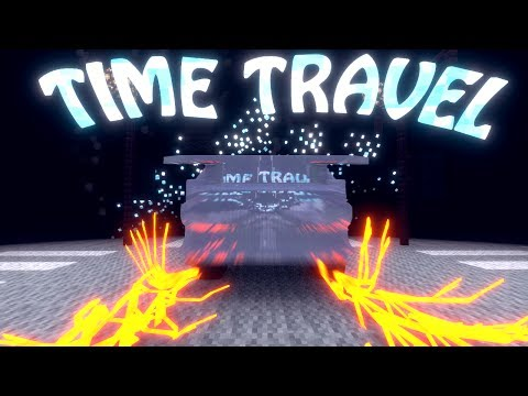 Minecraft | TIME TRAVEL MOD Showcase! (TIME MACHINE MOD, TIME TRAVEL MOD)