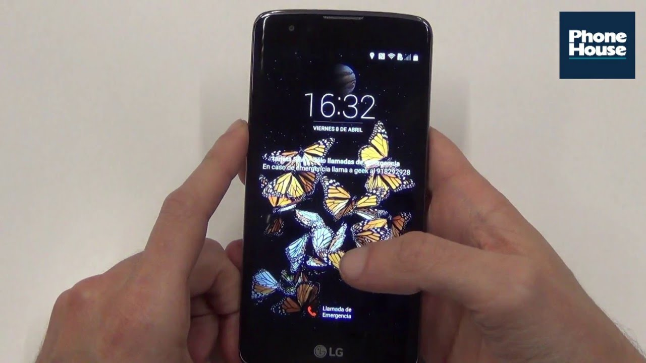 Phone House Moviles Libres Catalogo Review Lg K8 Español