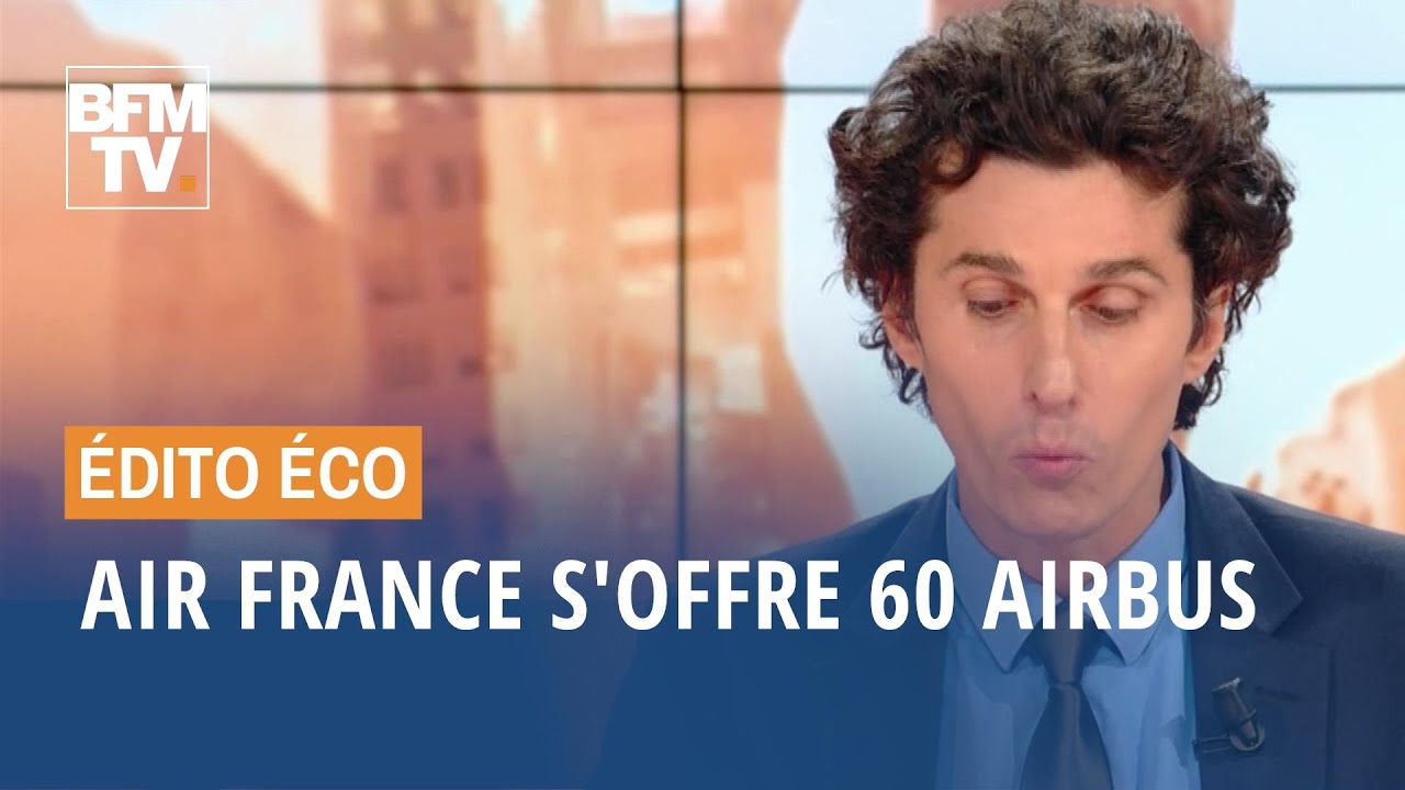 Air France s'offre 60 Airbus