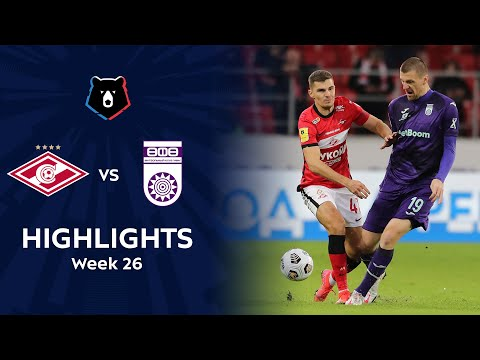 Spartak Moscow Ufa Goals And Highlights