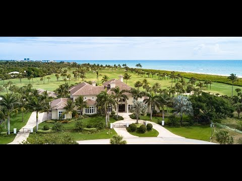 991 Greenway Lane, Vero Beach, Florida - Luxury Oceanfront Golf Course Estate