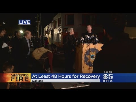 Deadly Oakland Fire: Oakland Police & Fire Department Press Conference