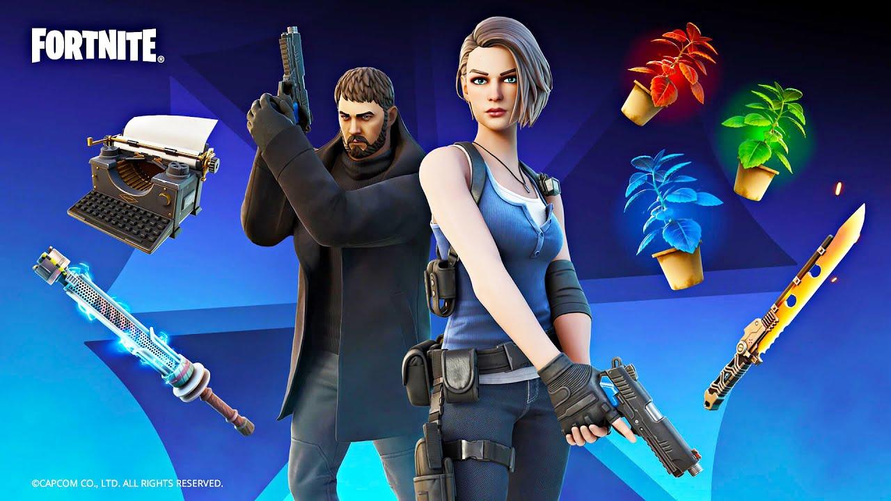 Download FORTNITE x RESIDENT EVIL!! (Fortnite Battle Royale)