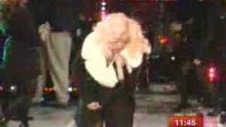 New year Performance Christina Aguilera Candyman + Fighter