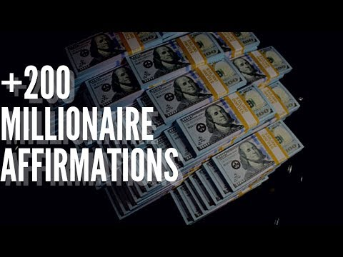 💵 +200 Millionaire Affirmations in 432hz! ~(Listen For 21 Days!) What I used!
