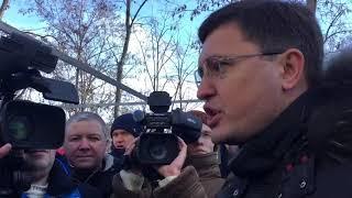 Бойченко заявил, что скверу на «Восточном» быть