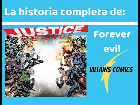 Liga de la Justicia Forever evil