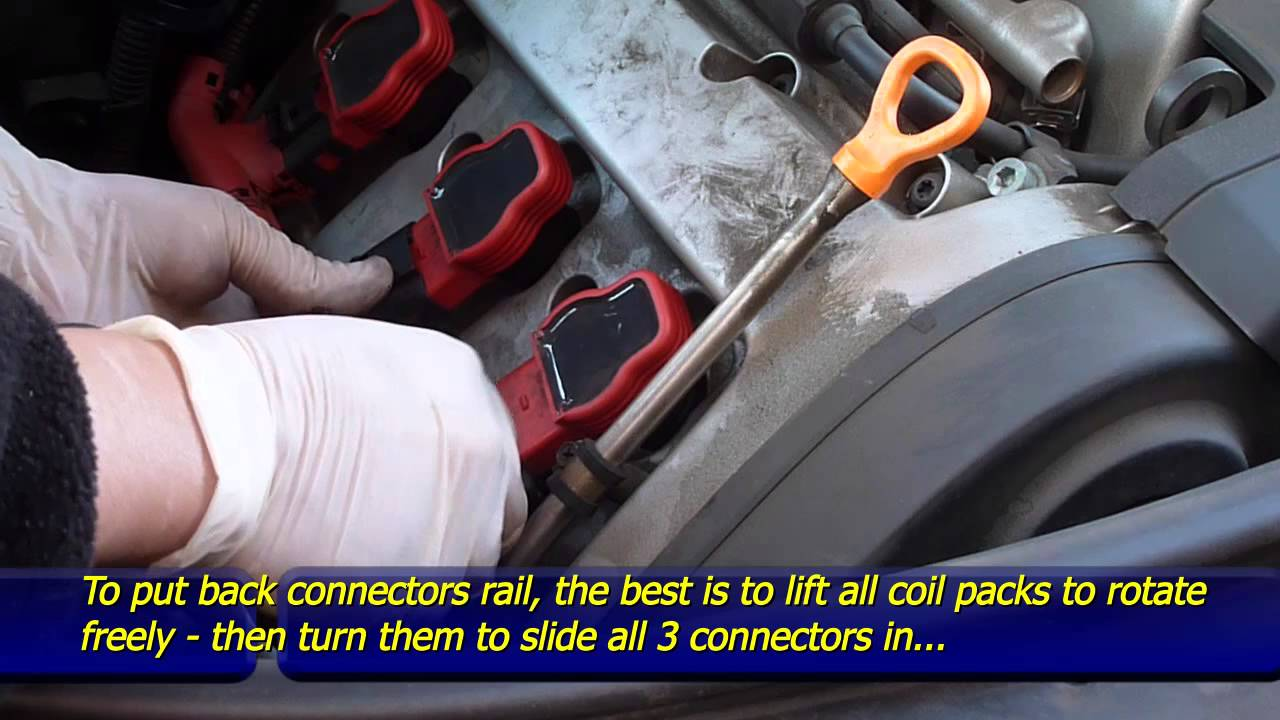 maxresdefault how to replace coil packs audi a4 b6 v6 3 0l 30v youtube Audi Ignition Coil Problem at panicattacktreatment.co