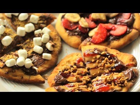 Mini Nutella Pizzas