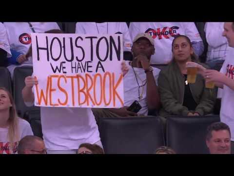 Houston Rockets vs Oklahoma City Thunder R1G3 | April 21, 2017 | NBA Playoffs 2017