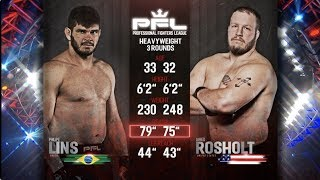 PFL Full Fight Friday: Philipe Lins vs. Jared Rosholt from PFL Playoffs: New Orleans